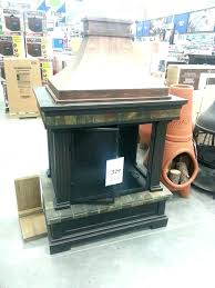 copper outdoor fireplace s deckmate copper outdoor fireplace