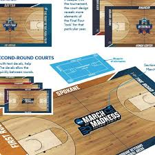 2019 Ncaa Tournament Court Designs Finally The Ncaa Decided To Make Different March Madness
