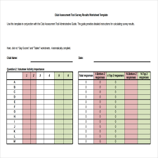Survey Results Templates 22 Free Word Excel Pdf Documents