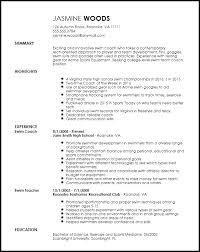 Different Types Of Skills For Resumes Free Contemporary Sports Coach Resume Template Resume Now