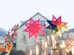 Weihnachtsstern Aus Tranparentpapier Basteln Für