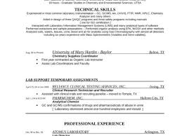 Analytical Chemist Resume Analytical Skills Cover Letter Tabular Analytical Chemist Resume