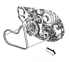 2005 cobalt belt routing diagram 2 4drive belt