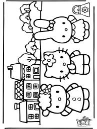 Hello Kitty Bastelvorlage Az Ausmalbilder