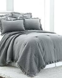 ruffle comforter queen ruffled comforters 3 piece stonewashed ruffle comforter set comforters bedding bed for ruffled ruffle comforter