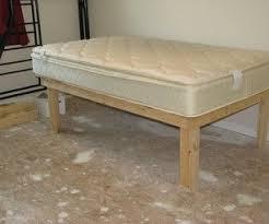 Best 25 Diy twin bed frame ideas on Pinterest  Twin platform bed frame Twin  bed frame wood and Twin platform bed