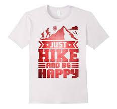 Hiking T Shirt Design Hike Be Happy Hiking T Shirt Mountain Climbing Design Vaci
