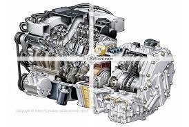 car engine cutaway stock illustrations v6 hybrid engine cutaway