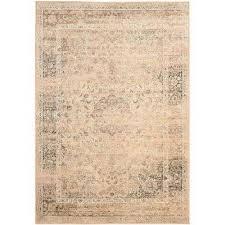 vintage warm beige 9 ft x 12 ft area rug