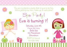 Free Printable Spa Party Invitations Templates Spa Party Invitation