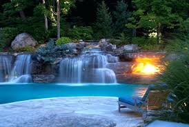 In ground pools with waterfalls Natural Inground Pool With Waterfall Pool Waterfalls Waterfalls For Pools Round Designs Pool Waterfall Slide Inground Pool Inground Pool With Waterfall Highsolco Inground Pool With Waterfall Pools With Waterfalls And Slides