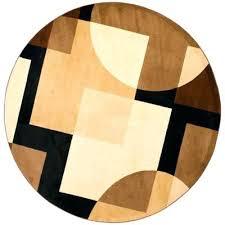 10 ft round rug 9 ft round rug 9 ft round area rug round black brown 10 ft round rug
