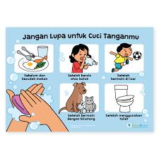 9 poster gambar cara mencuci tangan edukasi cegah virus corona covid 19 bisa dibagikan ke medsos tribun manado. Contoh Gambar Mewarnai Gambar Anak Cuci Tangan Kataucap