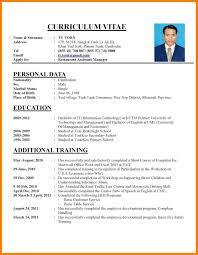 Examples Cv Examples Of How To Write A Cv How To Write Cv Resume Resume