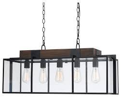 dark bronze wood antonio 5 light chandelier