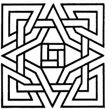 Small Picture Geometric Design Coloring Pages regarding Motivate to color an