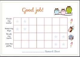 Sticker Chart Enchanting Free Reward Charts For Toddlers Trisamoorddinerco