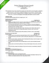 Project Manager Resume Objectives Best of Best Project Manager Resume Project Manager Resume Samples Is One Of