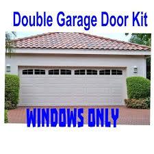 garage door window decals carriage house style faux windows garage door vinyl decals no faux hardware garage door window