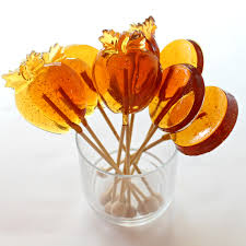 honey lollipops for licking stirring and gifting