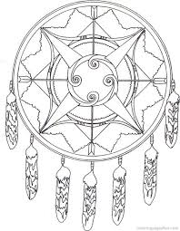 Coloring Sheets Native American Coloring Page