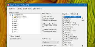 Karen's Directory Printer the File Cataloging Utility for Windows v5 ...