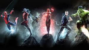 Marvel 4k Artwork superheroes ...