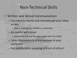Non-Technical Skills ...