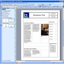 free microsoft publisher newsletter templates dynamic reusable newsletter template defined
