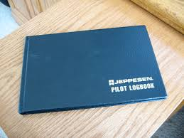 an aircraft pilot s logbook typical page