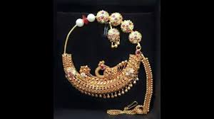 Gold Nose Ring Designs For Bridal Latest Nose Ring Designs 2018 Nath For Wedding Gold Nose Ring Designs Nose Pin Gold Jewellery