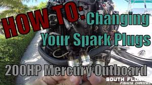 How To Replace Spark Plugs Mercury Outboard Engine