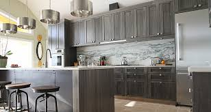 Great Kitchen Cabinet Color Trends Grey Ceramic Modern Design Long White Desk  Large Square Grey Stained Wooden Dresser Smooth Painted Good Looking