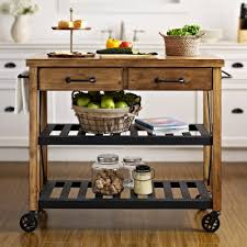 Industrial Kitchen Island Crosley Roots Rack Industrial Kitchen Cart Kitchen Islands And