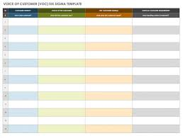 Six Sigma Control Chart Excel Template Free Lean Six Sigma Templates Smartsheet
