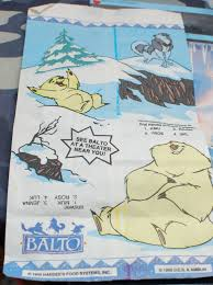 kfc ones but they are kinda hard to find you can find these on ebay and amazon they go around 30 80 dollars the bag looked like this balto