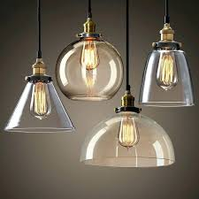 clear glass pendant light shade replacement lamp shades modern for incredible home clear glass chandelier shades designs