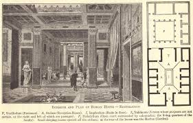 ancient roman villa floor plan