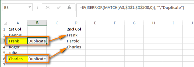 Excel Checkbook Formulas Compare Two Columns And Remove Duplicates In Excel