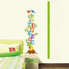 Child Height Chart For Wall Height Wall Sticker New Diy Decor Pvc Wall Sticker