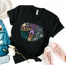 Disney World Size Chart Disney World Unisex V Neck Shirt Disney Shirt Funny Disney Shirt Disney Map Shirt Adult Disney Shirt Cute Disney Colorful