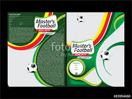 "Football Flyer Template"" Stock Image And Royalty-Free Vector Files ..."