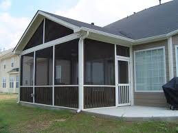 Modern Screened Covered Patio Ideas Design Building Supplies Cabinets With Simple