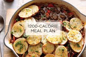 1200 Calorie Diet Chart 7 Day 1200 Calorie Meal Plan For Weight Loss Taste Of Home