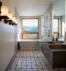 view gallery bathroom modular system progetto. Smart Blend Of Bath And Shower In The Narrow Bathroom View Gallery Modular System Progetto