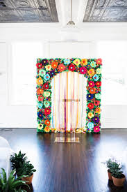 Paper Flower Archway Paper Flower Archway Magdalene Project Org