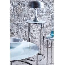Slimline Bedroom Furniture Slimline Retro White Glass Side Tables Retro Furniture Online At