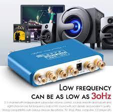 Class D Stereo Amplifier Black Q100 2.1 Channel Hi-Fi Bluetooth Verstärker  Dual DSP Digital Subwoofer Amplifier Mini Home Theater Power Speaker Amp  Wireless Audio Empfänger 80W+40Wx2 Hifi & Audio Elektronik & Foto