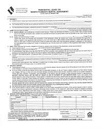 Residential Rental Agreement Delectable Agreement Template Rental California Association Of Realtors