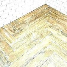 ceramic wood look tile patterns floor is in herringbone pattern a 6 planks vs vinyl plank